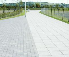 Tegula Cobbles Pennant Grey, Conservation Silver Grey