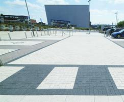Celestia concrete paving - 15-20kgCO2/m²