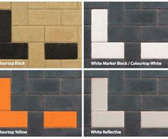 Marker blocks available in 4 colours