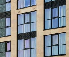 Stanton Moor sandstone - hotel exterior