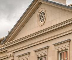 Stoke Hall Ashlar sandstone walling