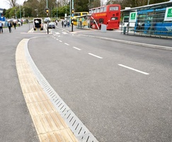 Pave Drain and tactile paving