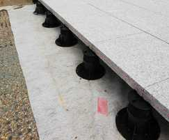 Marshalls fixed head adjustable paving pedestals