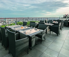 Marshalls vitrified paving is suitable for balconies