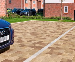 Coppice block paving - Oak Blend