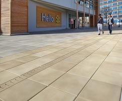 Drexus Pave Drain, discreet textured concrete tops