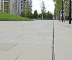 Slot drain Olympic Park