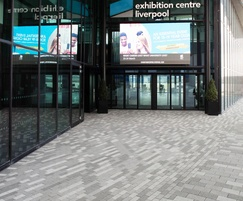 Modal paving, Exhibition Centre, Liverpool