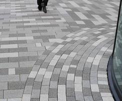 Modal paving blocks, Exhibition Centre, Liverpool