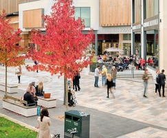 Robust water management system  for pedestrian areas
