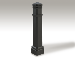 ASF 119 Recycled Cast Iron Bollard