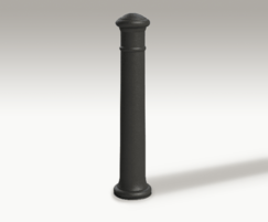 ASF 102 cast iron bollard