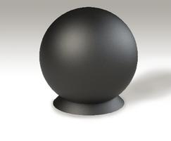 ASF 127 Cast Iron Spherical Bollard