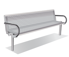 ASF 6003 Stainless Steel Seat