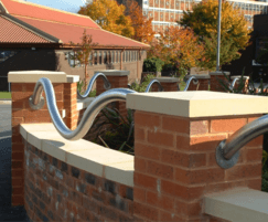 Retrofit eccentric stainless steel rails
