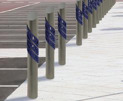 ASF 5009 bollards design visualisation
