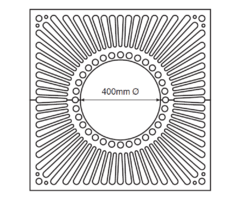 ASF 309 Tree Grille