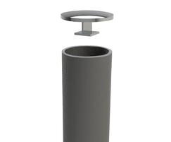 ASF Concrete Infill Bollard detail