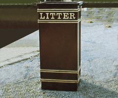 ASF 401 Cast Iron Litterbin