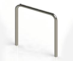 ASF 8000 Stainless steel cycle hoop