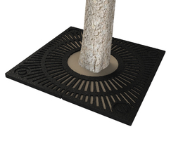 ASF 328 Recycled Cast Iron Tree Grille
