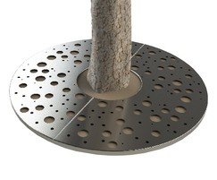 ASF Planet Round Stainless Steel Tree Grille