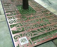 ASF Bespoke Bronze Tree Grille