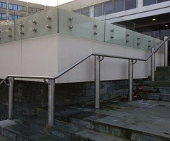 ASF 5006 handrailing and ASF glass balustrade
