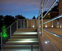 Stainless steel Q Rail handrailing