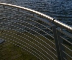 Image 4ASF bespoke Waterside balustrade at Birkenhead