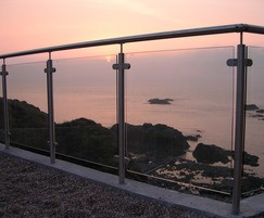 Image 1ASF glass and stainless steel balustrade