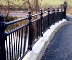 ASF cast iron railings