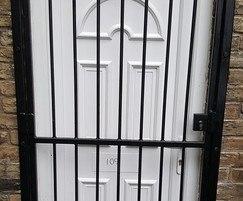 ASF Security Gate - shown over door