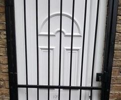 ASF Security Gate over door