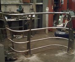 ASF Norwegian gate in fabrication