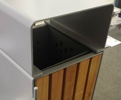 ASF Steel and Timber Litterbin