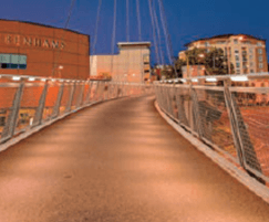 LED Illuminated Bridge Parapet