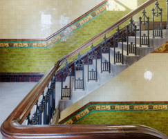 Grade II listed stair baluster refurbishment