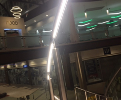 ASF curved illuminated handrail