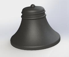 Image 9ASF Bell bollard 3d render