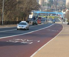 Northern Road Bridge - resin bound surface