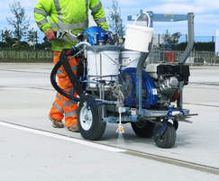 Graco LineLazer for fast and accurate line marking