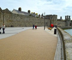 DekorGrip resin bound surface for Caernarfon promenade