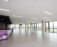 Armstrong Ceiling Systems: HRC (High Recycled Content) one-step ceiling solution