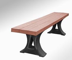 Darwin recycled plastic bench
