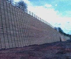 Permacrib timber crib retaining wall system