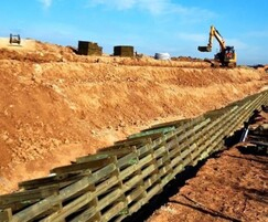 Phi Group: Retaining wall for production facility expansion