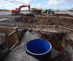 Stormwater drainage system installation