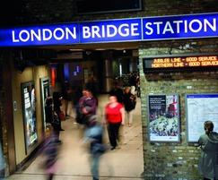 Polypipe attenuation system for London Bridge Station