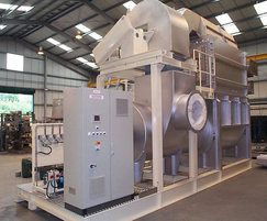 Process heater in the tobacco industry